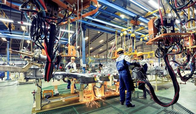 Bên trong nhà máy Huyndai Thành Công