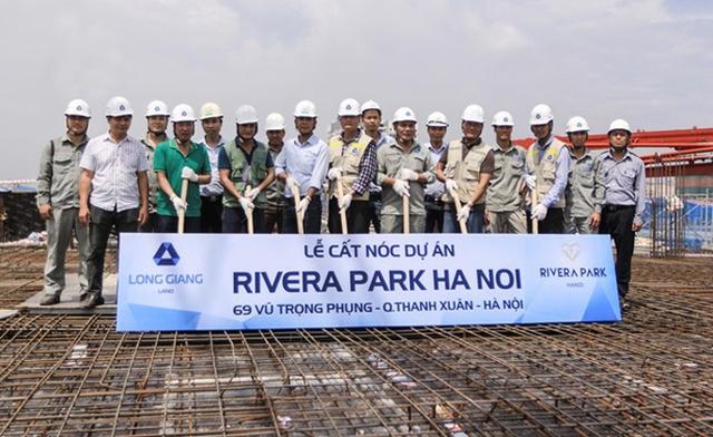Dự án Rivera Park đã cất nóc và sẵn sàng bàn giao vào năm 2018.