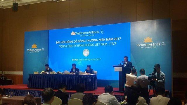 ĐHCĐ Vietnam Airlines: Phát hành 191 triệu cổ phiếu để huy động vốn mua máy bay - Ảnh 1.