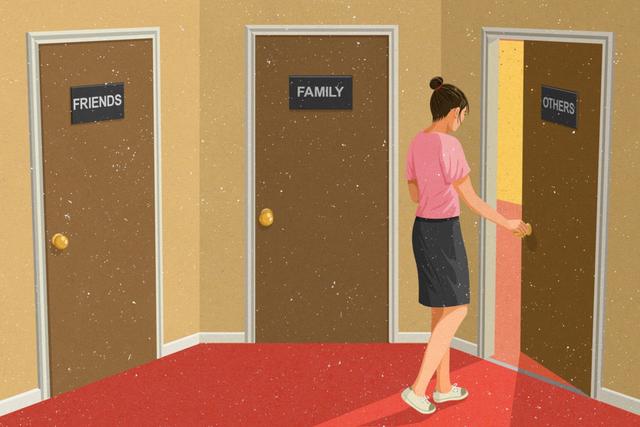 Trong cuộc sống hiện đại, con người không còn tìm đến gia đình, bạn bè khi gặp khó khăn. Họ dường như thoải mái hơn khi tìm đến người lạ.