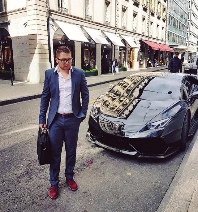 Lamborghinis là phương tiện di chuyển phổ biến của hội con nhà giàu Thụy Sĩ.