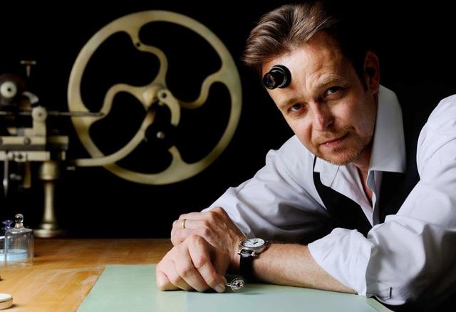 Peter Speake-Marin - nghệ nhân chế tác đồng hồ Tourbillon số 1 thế giới.