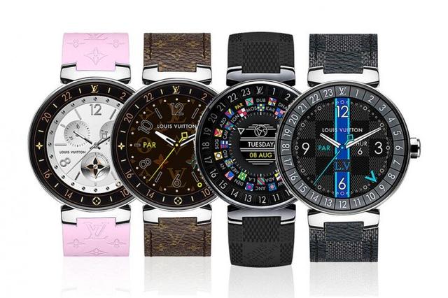 Là sản phẩm của ông lớn thời trang, đồng hồ thông minh Tambour Horizon có đến 60 mẫu dây deo.