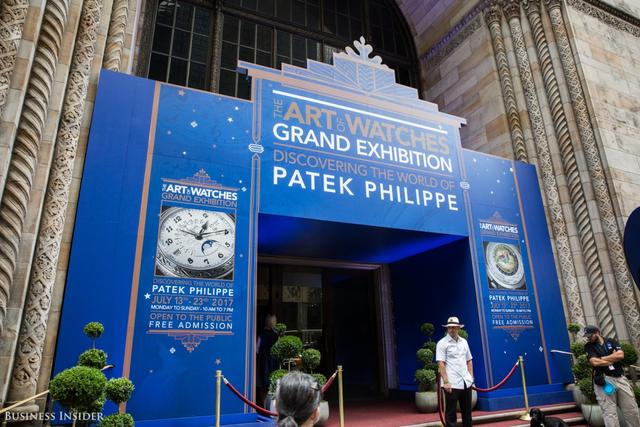 Địa điểm tổ chức triển lãm ở Cipriani, Midtown Manhattan.