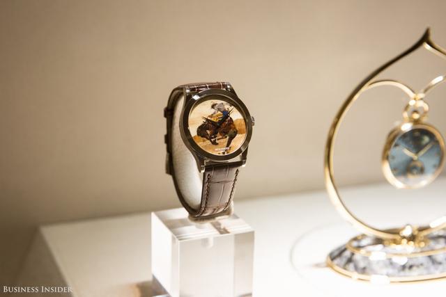 Một mẫu đồng hồ được chế tác thủ công quý hiếm và gần như vô giá.