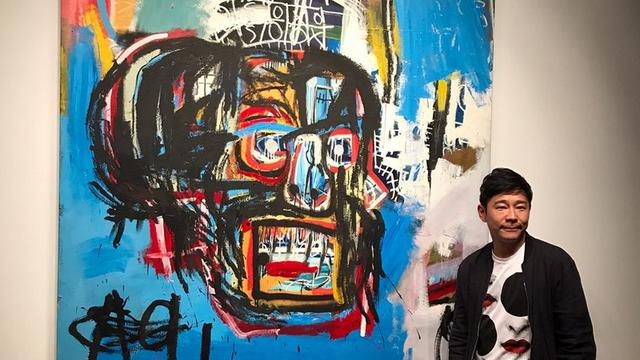 Nhà sưu tập Nhật Bản Yusaku Maezawa đã sở hữu tác phẩm không tên của Jean-Michel Basquiat với giá 110,5 triệu USD.