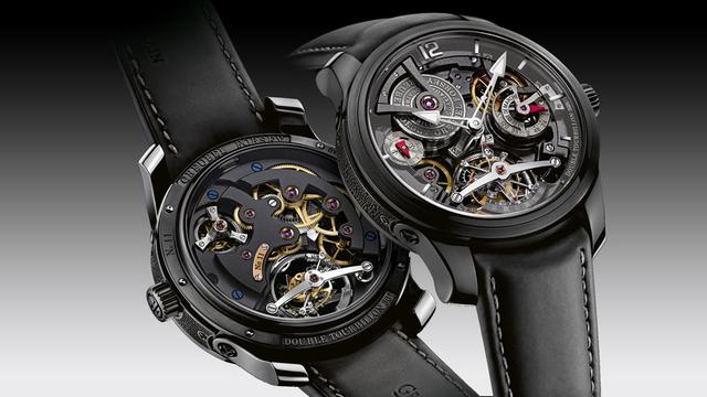 Rất ít thương hiệu đầu tư mạnh vào việc chế tạo tourbillon kép như hãng Greubel Forsey. Khác với thông thường, chiếc đồng hồ của Greubel Forsey có tourbillon nghiêng 30 và xoay trong vòng một giây. Thiết kế độc đáo này đã giúp hãng chiến thắng trong cuộc thi quốc tế về đồng hồ Tourbillon Concours International de Chronométrie năm 2011.