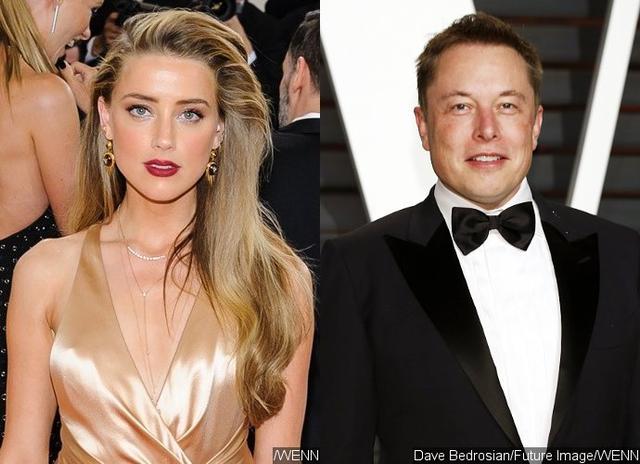 Tỉ phú Elon Musk từng hẹn hò với nữ diễn viên Amber Heard.
