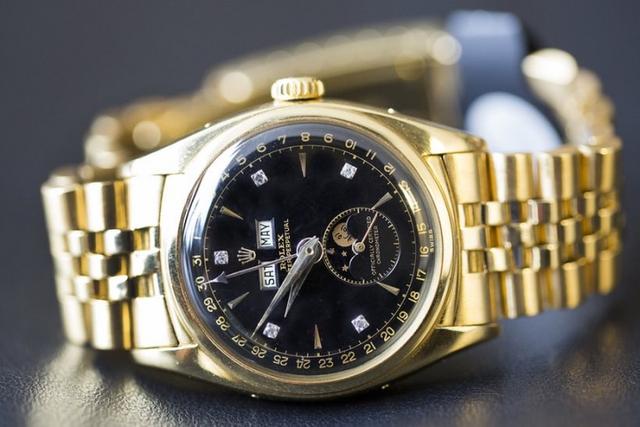 Chiếc đồng hồ Rolex BAO DAI Ref.6062 của Vua Bảo Đại đắt giá nhất thế giới.