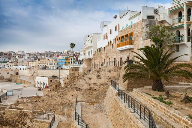 Thành phố Tangier là điểm đến ưa thích của nhà vua Salman trong các kỳ nghỉ hè.