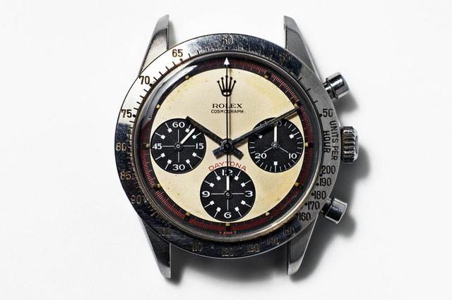 Chiếc đồng hồ Rolex Daytona reference 6239 của nam diễn viên Paul Newman.