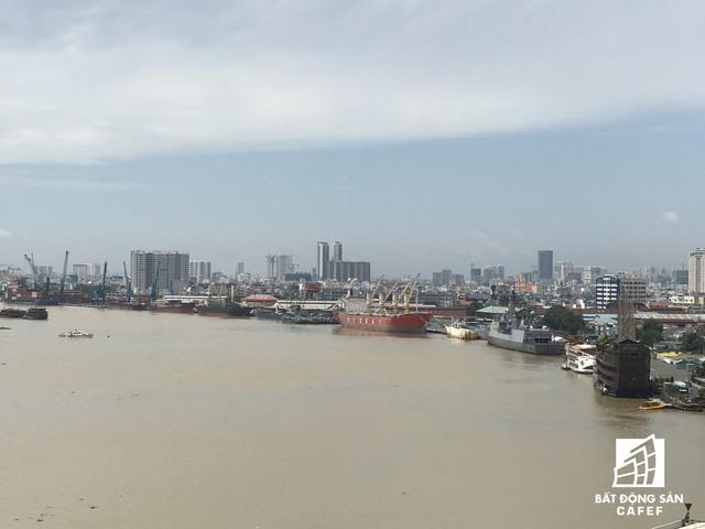 Ven sông Sài Gòn sẽ xuất hiện thêm nhiều khu nhà ở, tổ hợp cao tầng trong tương lai.