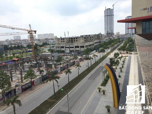 Các trục giao thông đi qua dự án khá thoáng.