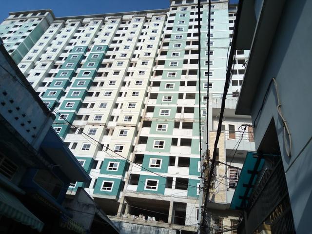 Một dự án bất động của 584 tại Tân Bình.