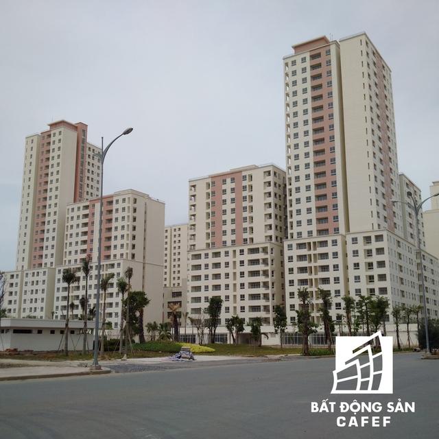 khu dân cư tại định cư 38,4 ha Bình Khánh được xem là khu nhà ở kiểu mẫu, có đầy đủ hạ tầng kỹ thuật, đồng bộ.
