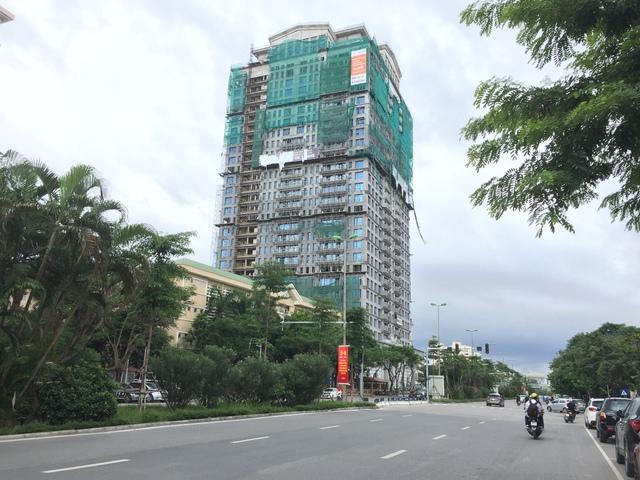 Dự án D'. Palais de Louis - Nguyễn Văn Huyên là dự án đầu tay của Tân Hoàng Minh được ra mắt vào năm 2009.