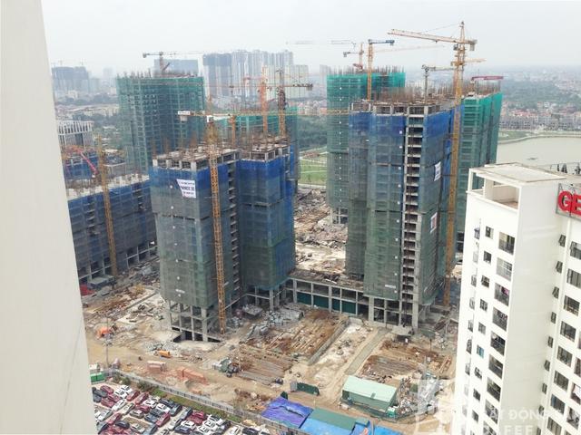 Dự kiến, các căn hộ chung cư tại đây sẽ lần lượt được bàn giao từ năm 2018.