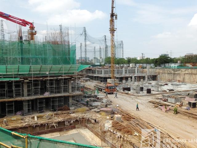 Toàn bộ dự án dự kiến sẽ được bàn giao vào năm 2018.