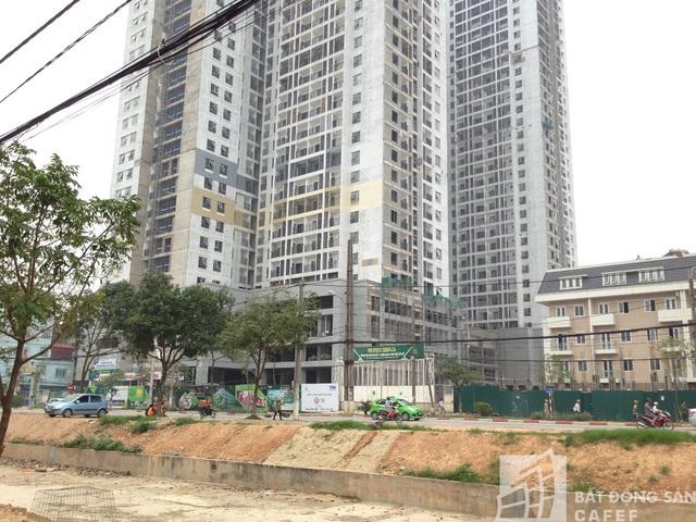 Các căn hộ tại đây trên thị trường có giá khoảng từ 25 triệu đồng/m2.