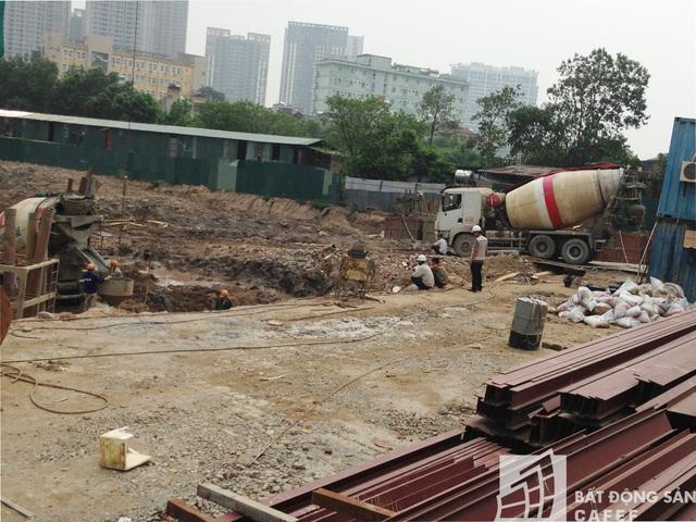 Mức giá dự kiến của các căn hộ tại đây 25 triệu/m2.