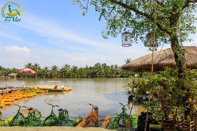 Làng du lịch tre Việt, trở thành nơi vui chơi, nghỉ dưỡng ven sông tại Sài Gòn.
