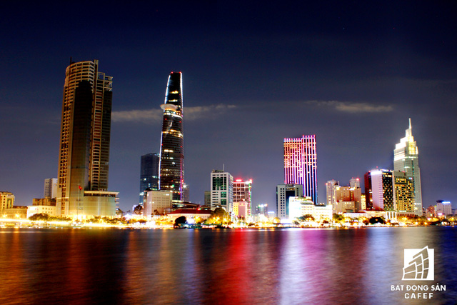 Vietcombank Tower là 1 trong 4 tòa nhà cao nhất TP.HCM giai đoạn này.