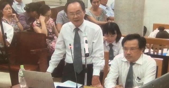 Phiên tòa sáng 23/9: Luật sư nói không có căn cứ để Nguyễn Xuân Sơn phạm tội Tham ô và Lạm dụng chức vụ - Ảnh 1.