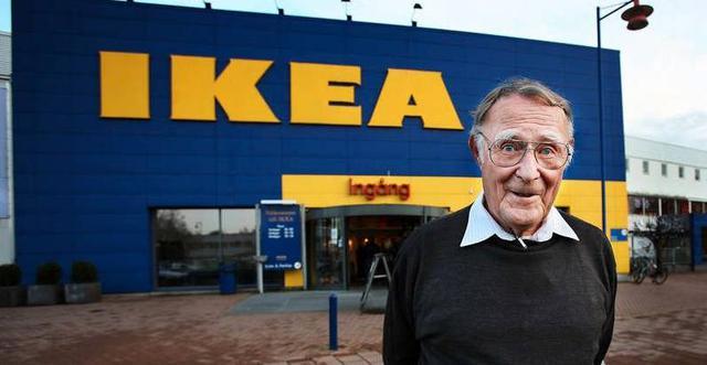 Ingvar Kamprad - người sáng lập của Ikea.