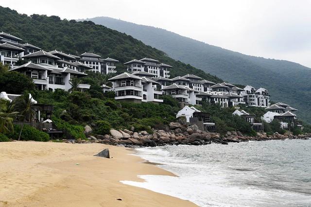 Sun Peninsula Residence Villa nằm trong khu nghỉ dưỡng InterContinental Danang Sun Peninsula Resort.