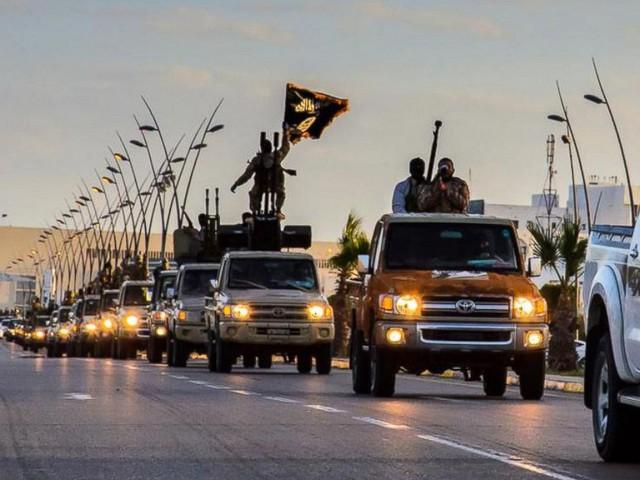 Lực lượng tự xưng Nhà nước Hồi giáo (IS).