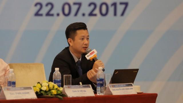 Ông Nguyễn Đức Hùng Linh – Giám đốc phân tích khối khách hàng cá nhân CTCK SSI