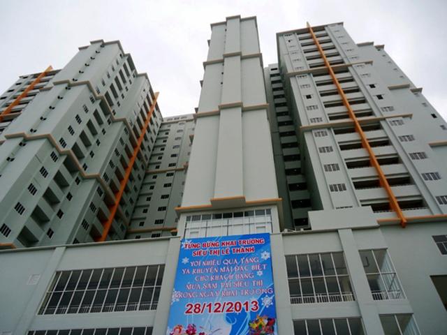 Lê Thành Twin Towers, một dự án khác của Lê Thành tại TP.HCM được bàn giao vào cuối năm 2013. (Ảnh: Thái Thịnh)