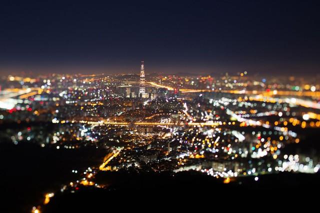 Công trình mới đóng vai trò điểm nhấn trong khung cảnh Seoul.