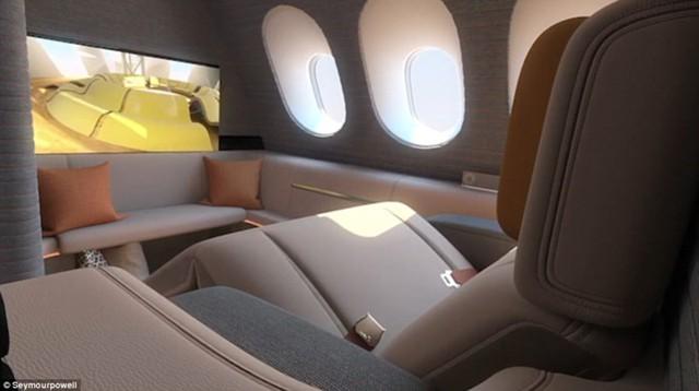 Gần một nửa doanh thu của các hãng hàng không đến từ khoang hạng nhất.
