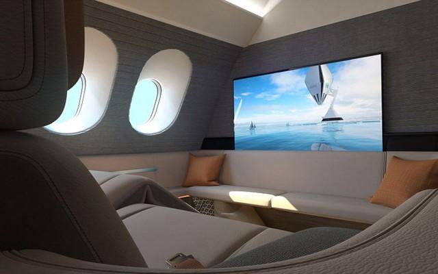 Khoang hạng nhất máy bay này do công ty Seymourpowell ở London thiết kế.