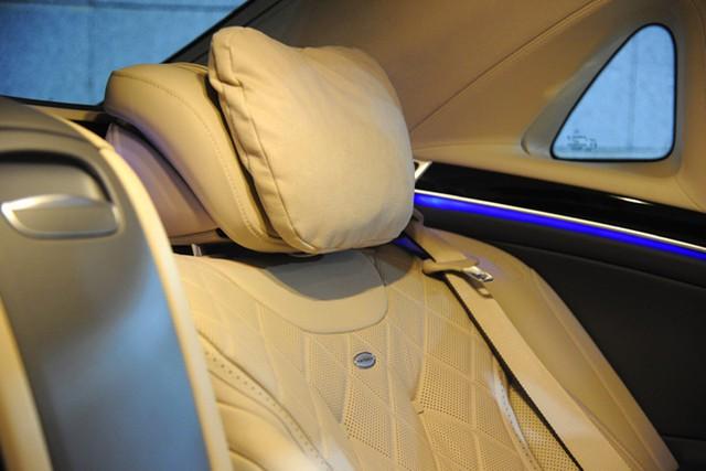 Ghế được bọc da Nappa Exclusive hoặc designo Exclusive Semi-aniline thượng hạng.