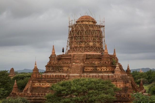 Những danh thắng kỳ vĩ chưa đủ để kéo du khách đến với Myanmar. Ảnh: Bloomberg