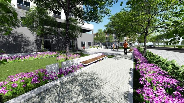 Hado Riverside tọa lạc tại khu đô thị Hà Đô Thới An thừa hưởng hệ thống hạ tầng đồng bộ và tiện ích hoàn hảo tại khu vực.