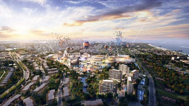Khu nghỉ dưỡng Nam Hội An có quy mô lớn bậc nhất Miền Trung đã được khởi công xây dựng.