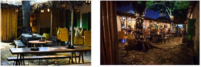 Mekong Merchant là quán ăn châu Âu mang phong cách Việt Nam.