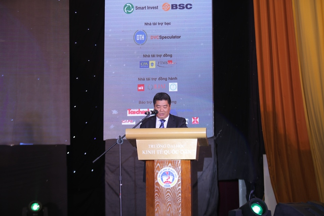 Ông Nguyễn Tiến Dũng - Chánh Văn phòng UBCKNN phát biểu tại chung kết