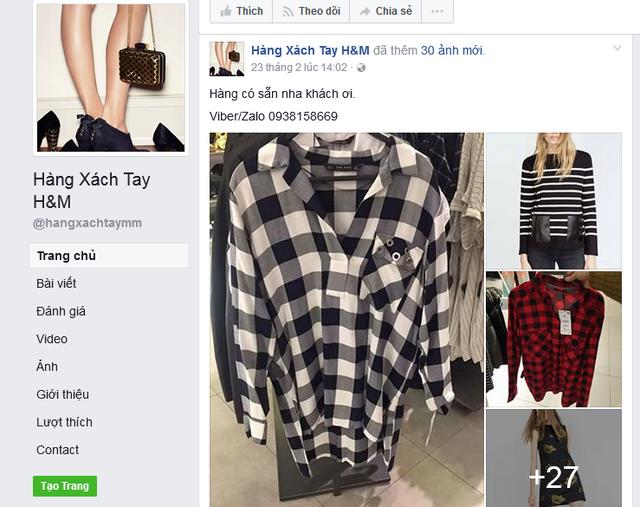 Các đầu mối bán hàng hiệu xách tay ở Việt Nam đang có lợi thế là bán hàng online.