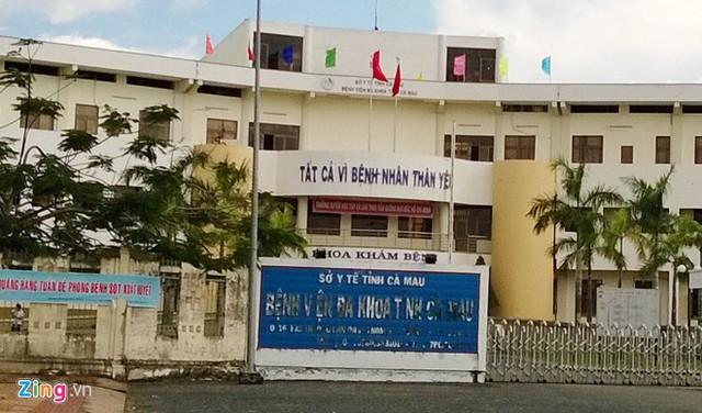 Bệnh viện Đa khoa tỉnh Cà Mau. Ảnh: H.N.