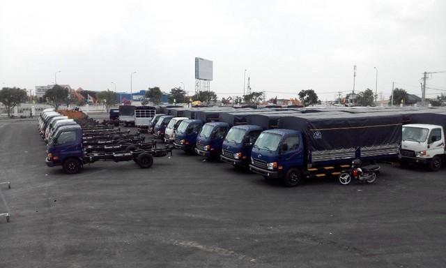 Đã có hàng trăm ô tô tải, ô tô buýt... sử dụng động cơ diesel tiêu chuẩn Euro 2, bị tạm dừng cấp giấy chứng nhận (Ảnh minh họa).