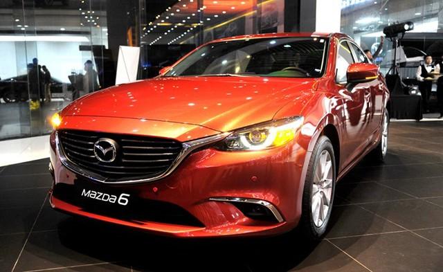 Mazda 6 2017 vừa ra mắt tại thị trường Việt Nam.