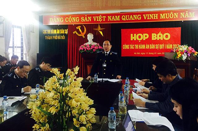 Cục trưởng Lê Quang Tiến chủ trì cuộc họp.