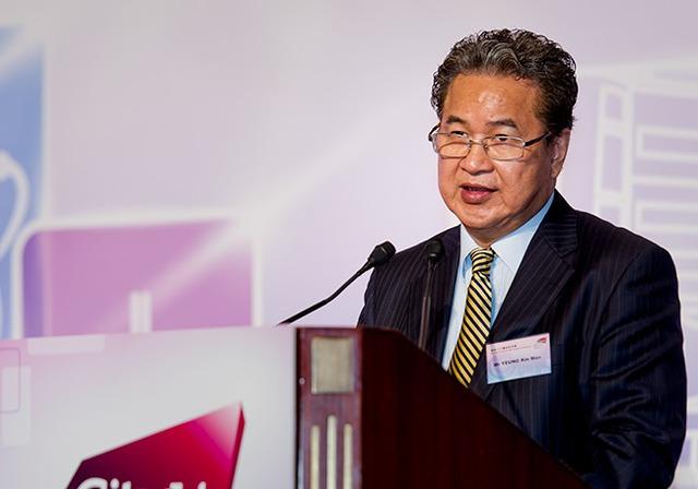 Tỷ phú Yeung Kin, người sáng lập công ty Biel Crystal Manufactory