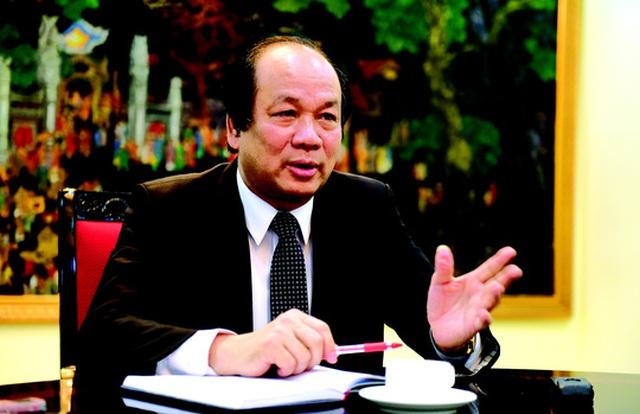 Bộ trưởng, Chủ nhiệm Văn phòng Chính phủ Mai Tiến DũngẢnh: bảo trân