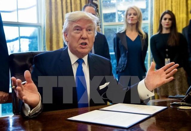 Tổng thống Mỹ Donald Trump. (Nguồn: AFP/TTXVN)