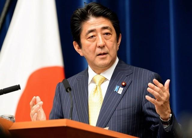 Thủ tướng Nhật Bản Shinzo Abe. (Nguồn: AFP)